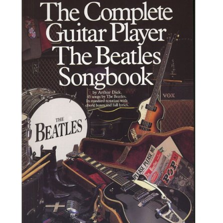complete guitar player the beatles songbook minstrels music