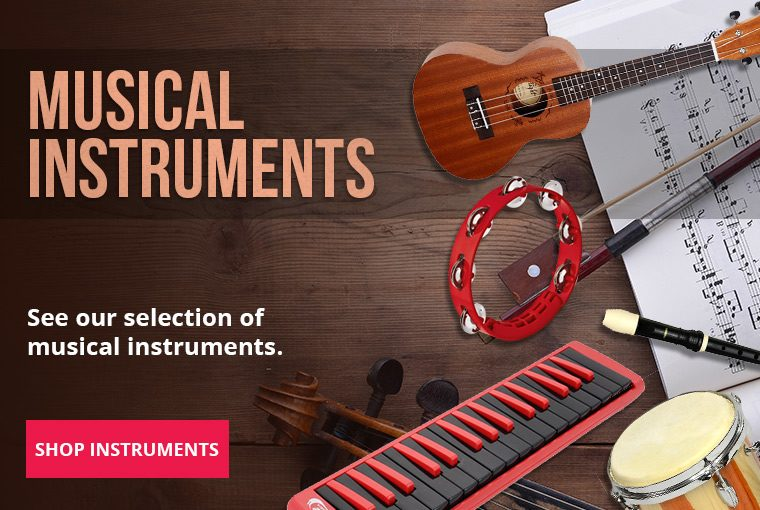 Musical Instruments Slider